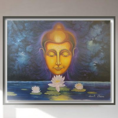 Budha OIl Painting