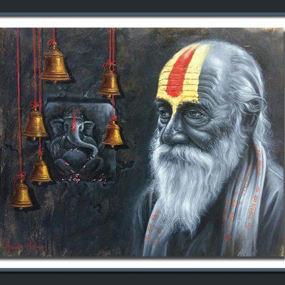 Lord Ganesha Devotee