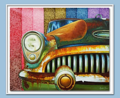 multicolor car painting