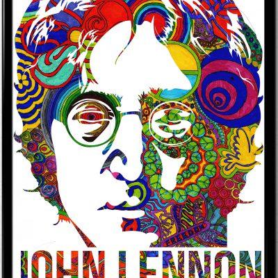 John Lennon Graphic Poster