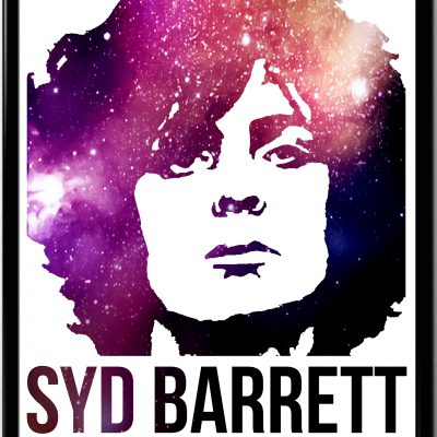 Syd Barrett graphic poster