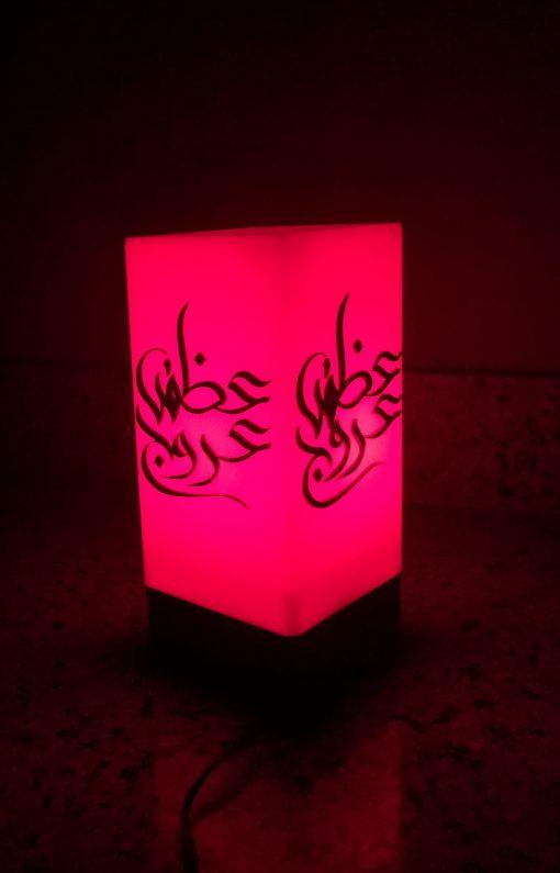 indoor portable acrylic lamp