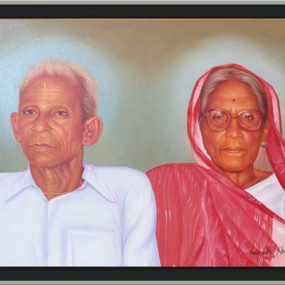 Old Portrait Painting