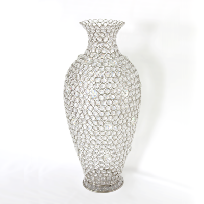 Crystal Beaded Vases