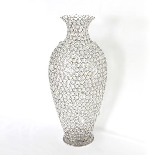 Crystal Beaded Vases